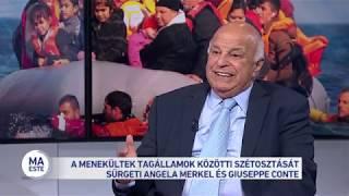 A menekültek tagállamok közötti szétosztását sürgeti Angela Merkel és Giuseppe Conte