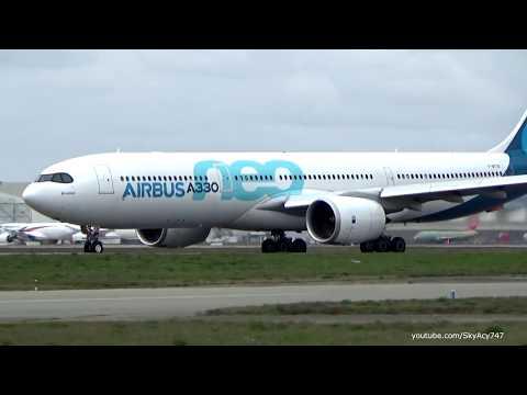 A330 NEO flight test @TLS (2 spotting locations)