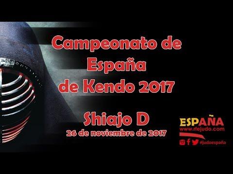 Campeonato de España de Kendo 2017 - Shiajo D - 26/11/2017