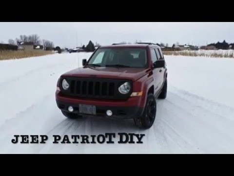 Jeep Patriot front bumper & grill removal! - YouTube