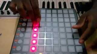 Papaty plays: katy Perry - Dark Horse instrumental (Launchpad Cover)