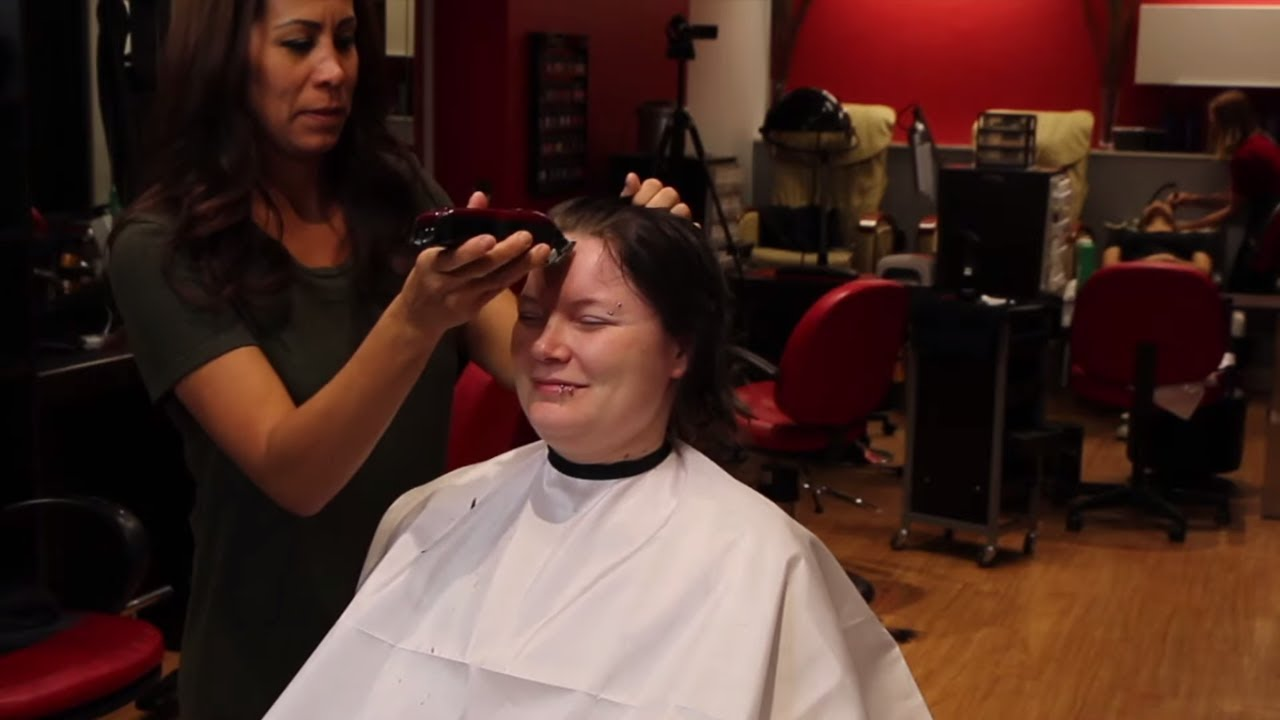 Kassandra AZ (pt 1): Shaved Head Bald (YT Original)