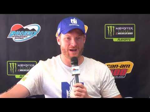 Dale Jr.: 'I feel like I'm going to break down any minute'