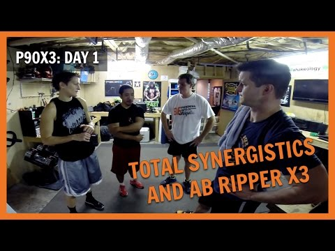 P90X3: Day 1  Total Synergistics and Ab Ripper X3  NC FIT