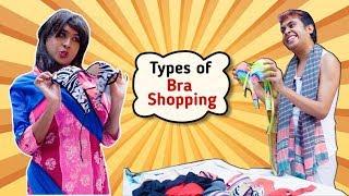 Types of Bra Shopping | Comedy Video by Sandy Saha