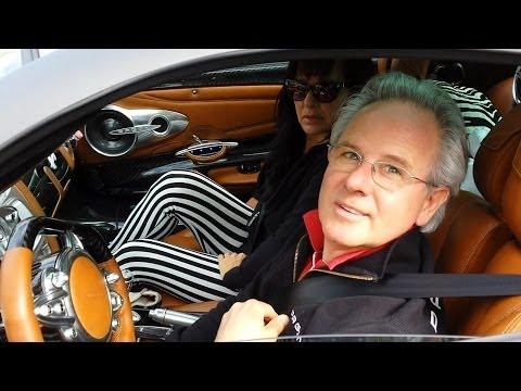 HORACIO PAGANI DRIVES HIS HUAYRA IN MONACO 2014 HQ