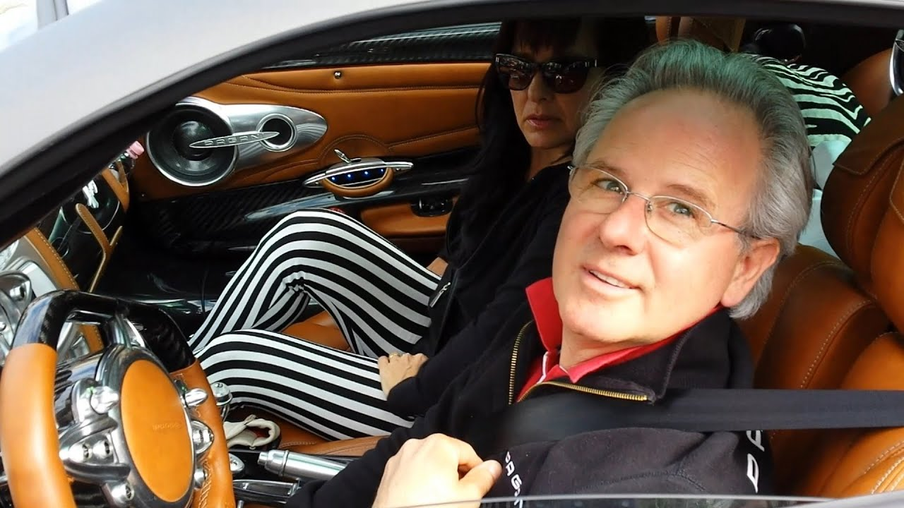 HORACIO PAGANI DRIVES HIS HUAYRA IN MONACO 2014 HQ - YouTube