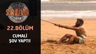 Dominik'te Cumali şov | 22. Bölüm | Survivor 2018