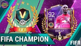 92 BAILLY ALDIK! EFSANE FIFA ŞAMPİYON BONUS ÖDÜLLERİ ALIYORUZ! FIFA MOBILE 18