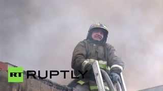 В Челябинске загорелся элитный поселок Благодатово(, 2015-09-19T17:54:29.000Z)