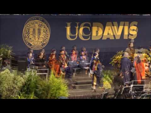 UC DAVIS COMMENCEMENT CEREMONY 2017
