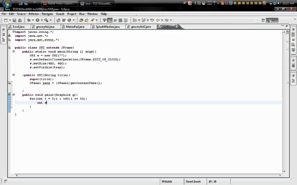 How to make a simple cool shapes with java on eclipse youtube how to make a simple cool shapes with java on eclipse ccuart Image collections