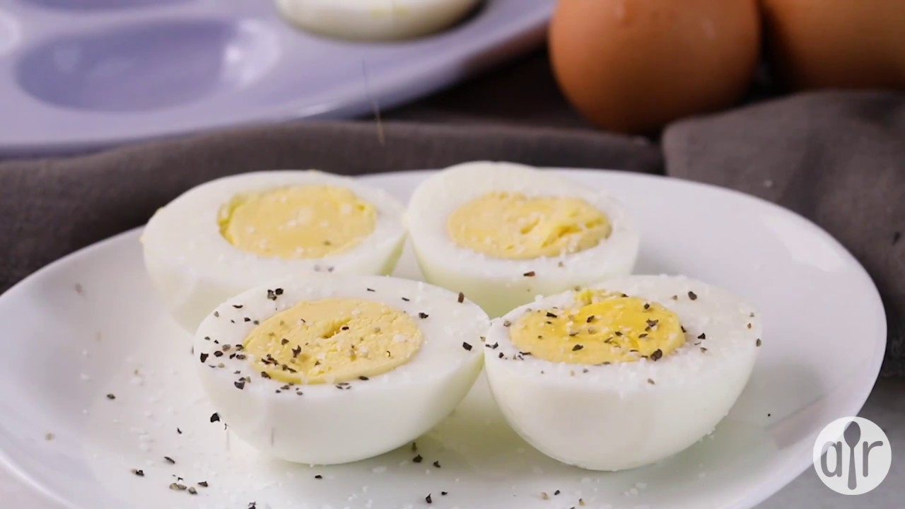 How To Make Pressure Cooker Hard Boiled Eggs Breakfast Recipes