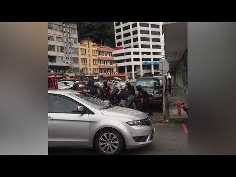 Photos, videos of police operation in Sandakan go viral