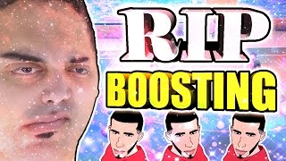 BOOSTING REMOVED FROM MyPARK • @Ronnie2k @LD2k ARE TRYING TO RUIN NBA 2K17 • HIGHEST REPS MAD!?!?