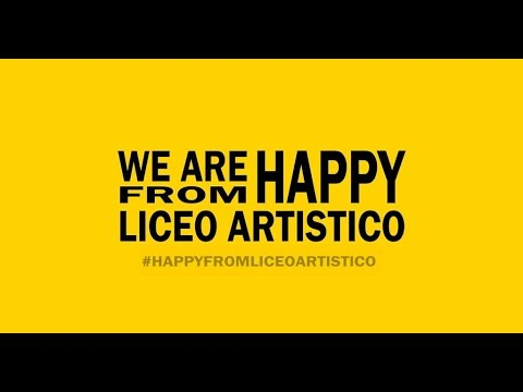 We Are Happy From LiceoArtistico Cerignola (Fg)
