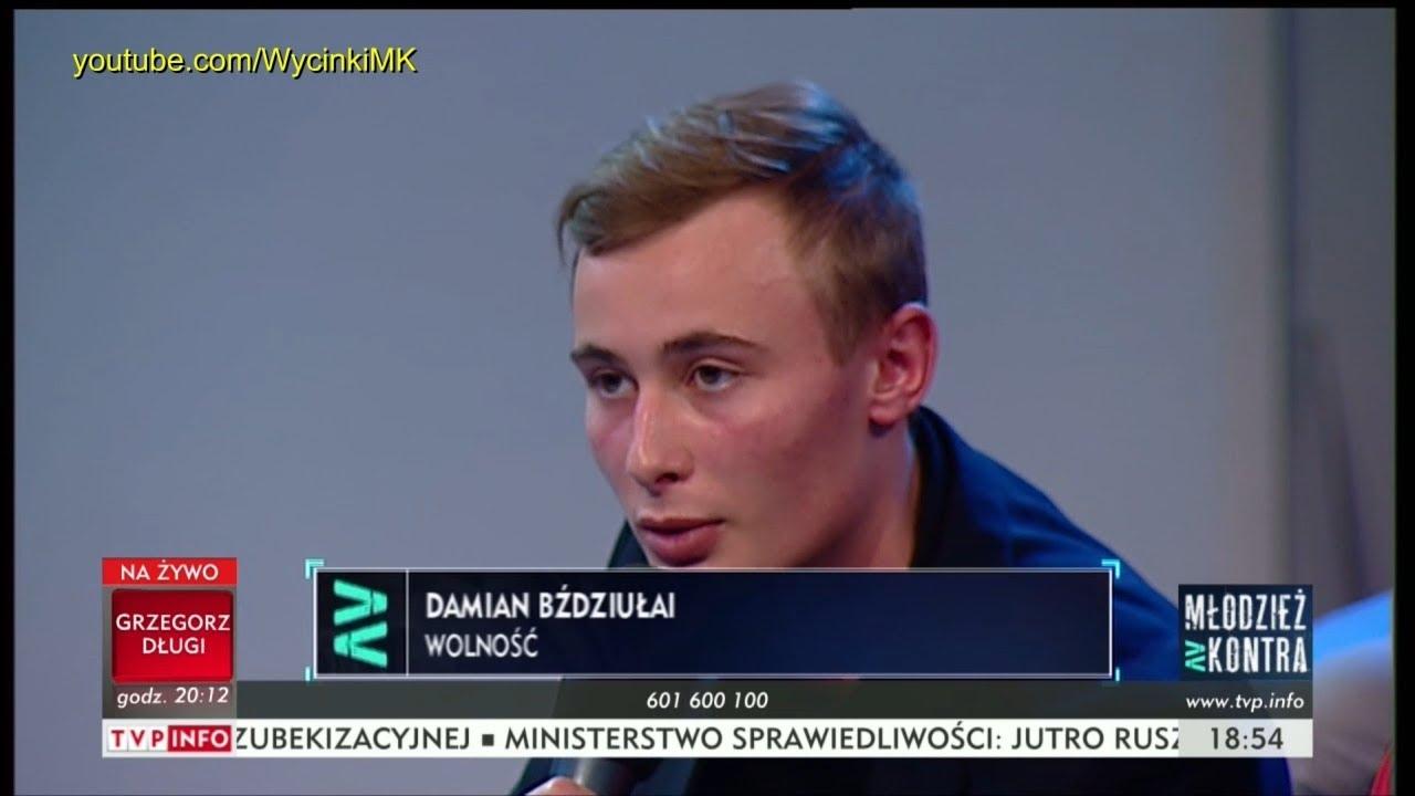 Młodzież kontra 611: Damian Bździułai (Wolność) vs Ryszard Czarnecki (PiS) 30.09.2017