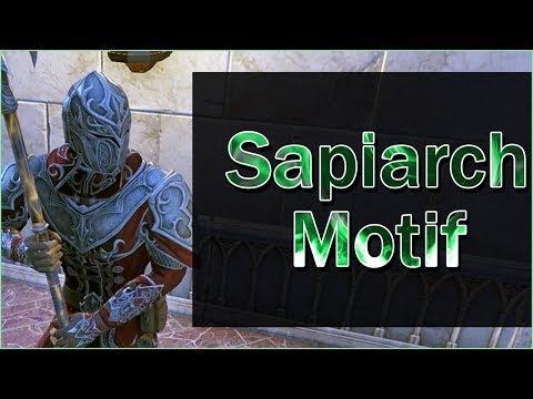 SAPIARCH MOTIF Showcase - Elder Scrolls Online: Summerset |