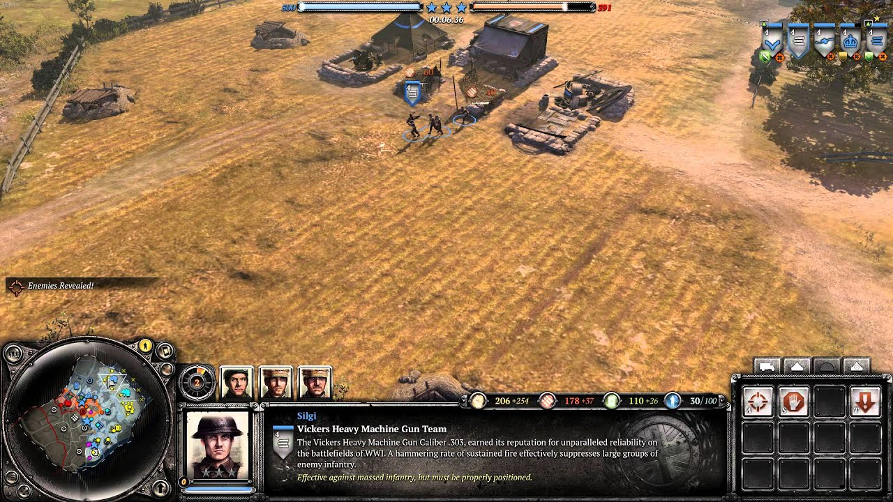 Company Of Heroes 2 Players Vs Ai Skirmish 1 Youtube