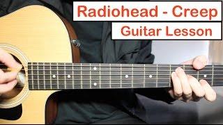 Radiohead - Creep | Guitar Lesson (Tutorial) How to play Chords + Lead