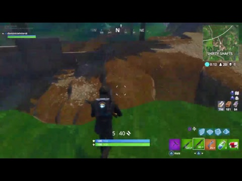 Meteor Hit Twice Right In Front Of Me!! Fortnite Battle