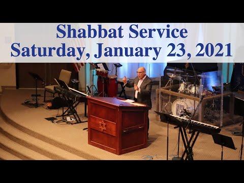 January 23, 2021 - Shabbat Service