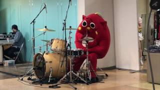 2017年3月20日 青森市さくら野百貨店で行われた にゃんごすたーのドラマ...