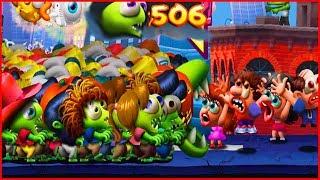 500 ЗОМБИ ЦУНАМИ ВЗЛОМ. игра как Растение против зомби.Hack Zombie Tsunami Start With 500 Zombies