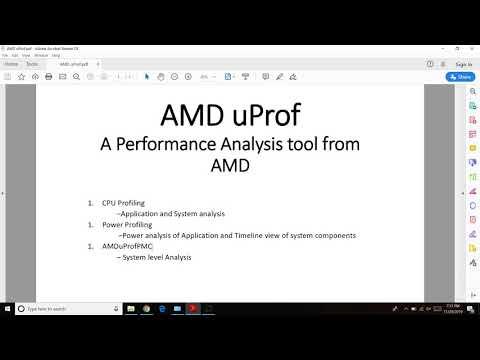Amduprof 3 2 Windows Installation Youtube