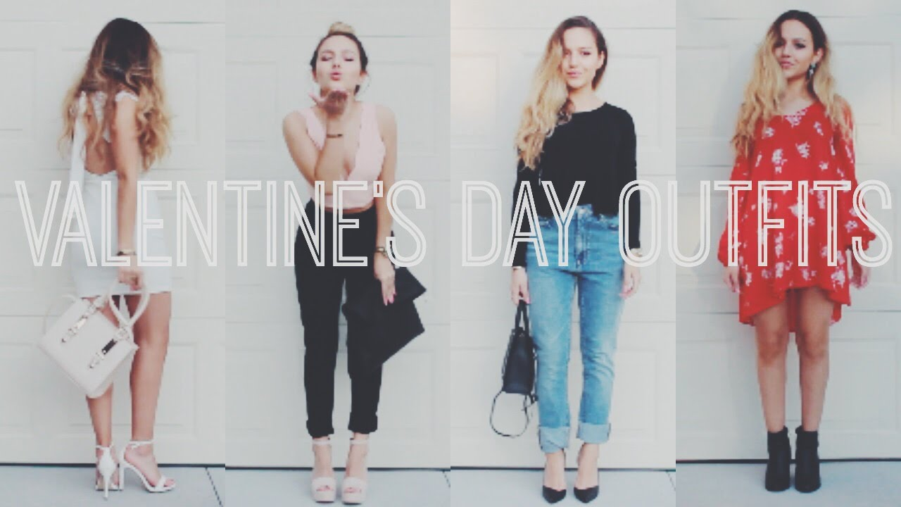 Valentine S Day Outfit Ideas Nathalie Paris Youtube