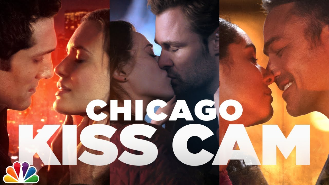 Kisses Across Chicago Fire, P.D. and Med - One Chicago