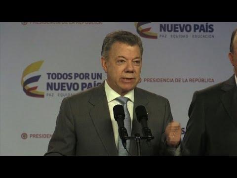 Santos anuncia saída de soldados venezuelanos da Colômbia