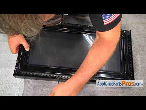 Microwave Door Handle (Part #W10259243) - How To Replace
