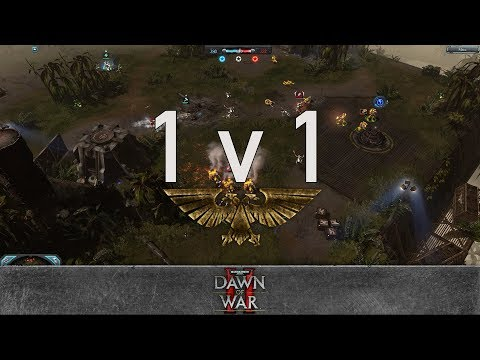 Dawn of War 2: Retribution - 1v1 | Adila - Farseer [vs] Don Fr33man - Apothecary