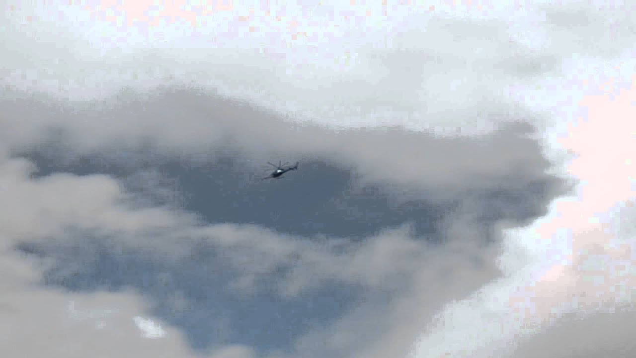 UFO Drone Tracks Prototype Military Helicopter? Amazing Footage You Decide!