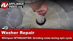 Whirlpool, Kenmore, & Roper washer - Grinding noise during spin cycle- Repair & Diagnostic