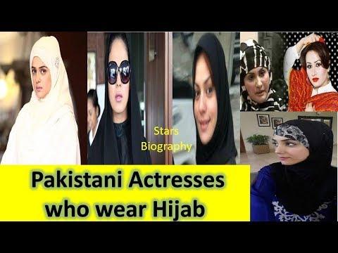 Pakistani Actresses who wear Hijab Pakistani Actresses in Hijab  Niqab Tutorial Stars Biography