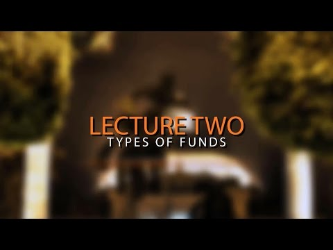 Gov. Acc. - Types of Funds