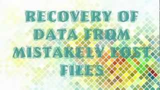 Recovery of data from mistakenly lost file