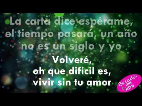Descargar Video Volvere - Diego Verdaguer+letra