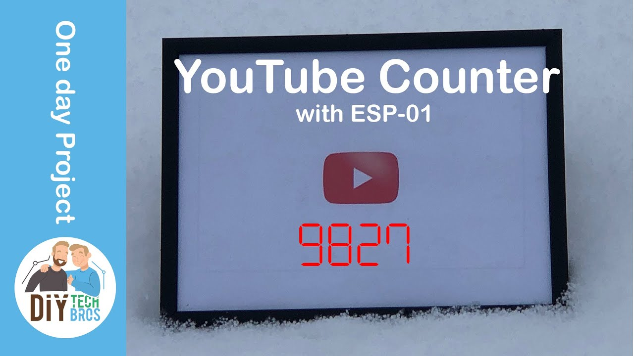 Youtube subscriber and views counter 2019 API issue solved!!