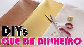 Neste vídeo trouxe 3 ideias super fáceis para você tentar fazer e vender