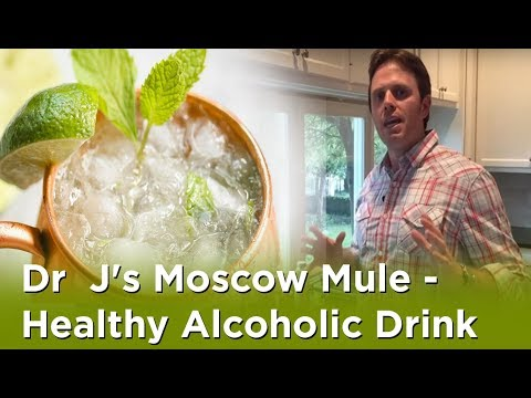 Dr  J's Moscow Mule - Healthy Alcoholic Drink
