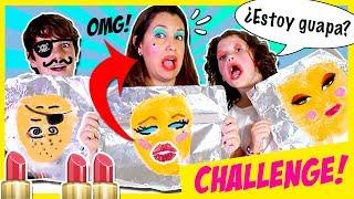 💄 TIN FOIL MakeUp!!💄 Juego del Maquillaje con PAPEL DE ALUMINIO 😂 ¡SORTEO KIT de MAQUILLAJE! thumbnail