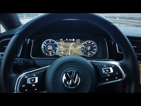 Volkswagen Adaptive Cruise Control ACC 2018 Volkswagen's Safe Distance Technology  Drive Test !!