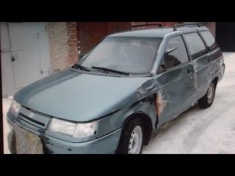 Lada 111 .ВАЗ-2111 . Кузовной ремонт.Рихтовка. Часть 1