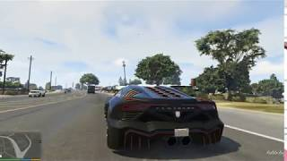 GTA 5 Zentorno Car Test Drive