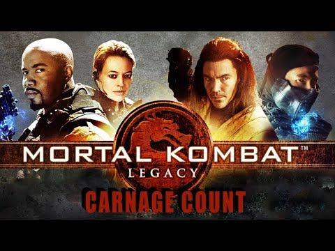 Mortal Kombat Legacy Season One (2011) Carnage Count
