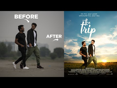 Random Photo to Bollywood Professional Movie Poster Design in Photoshop – Hindi Tutorial thumbnail