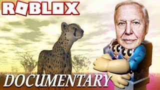 WILD SAVANNAH DOCUMENTARY BY DAVID ATTENBOROUGH - ROBLOX (Wild Animals Lets Play)